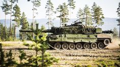 Norwegian main battle tank Leopard 2A4NO.