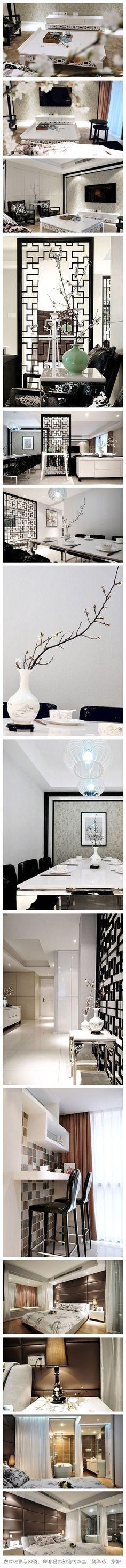 Chinese Tradition/modern interior http://www.pinterest.com/joliesarts ∗  »☆Elysian-Interiors ♕ Simply Divine #Interiordesign