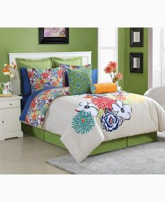 Fiesta Lucia Reversible Twin Comforter Set