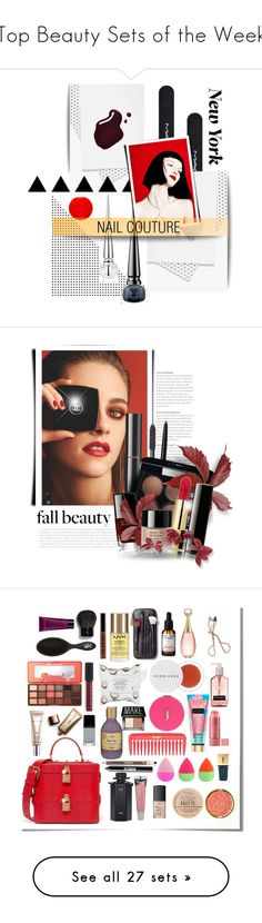 """""""Top Beauty Sets of the Week"""" by polyvore ❤ liked on Polyvore featuring beauty, MAC Cosmetics, Smith & Cult, Yves Saint Laurent, Christian Louboutin, INC International Concepts, Chanel, Fall, Beauty and polyvoreeditorial"""