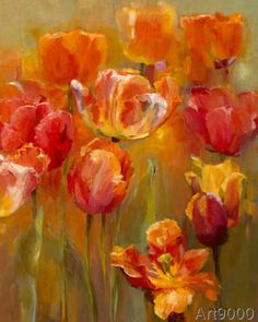 Marilyn Hageman - Tulips in the Midst II