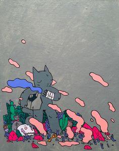 Deth P. Sun & Gemma Correll at Grumpy Bert.... - SUPERSONIC ART