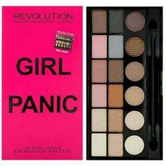 ลองเข้ามาดูสินค้า Makeup Revolution Salvation Palette #Girl Panic รุ่นลิมิเต็ด ที่รวบรวม ทั้งเนื้อมุก เนื้อแมท เนื้อชิ ขายในราคา ฿550 ซื้อได้ในแอพ Shopee ตอนนี้เลย! http://shopee.co.th/photchana.pb.pb/6594066  #ShopeeTH