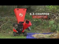 Wood Chipper Shredder 9.5 Manual Start   DR Power Equipment
