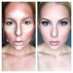 The beauty of contouring!