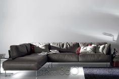 Jack Corner Sectional from Dandy Collection by Gamma Arredamenti