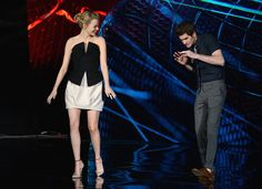 Andrew Garfield and Emma Stone's Cutest Pictures | POPSUGAR Celebrity