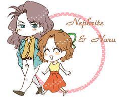 Sailor Moon / Nephrite and Naru