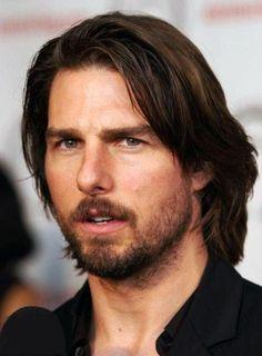 トム・クルーズ画像bot (@TCM4Pic) | Twitter Tom Cruise Meme, Nicole Kidman, Medium Hair Styles, Long Hair Styles, Mein Style, Hair Reference, Grunge Hair, Hollywood Actor, New Hair