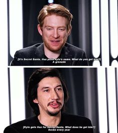 That went from 100 to 0 real quick - this literally fits hux and Kylo's relationship perfectly tho Star Wars Cast, Star Wars Meme, Star Trek, Reylo, Kylo Ren And Rey, Domhnall Gleeson, Star Wars Ships, The Force Is Strong, Bad Feeling