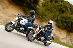 BMW R nineT vs BMW R1200 R Gif Motos, R1200r, Nine T, My Ride, Bikers, Motorcycle, Vehicles, Bmw Motorcycles, Bmw Motorrad