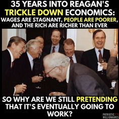 They're laughing because it sure is working for them.....