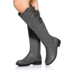 Melika grey boots
