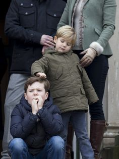 Prince Christian and Prince Vincent have a close bond.