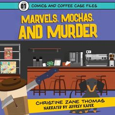 Marvels Mochas and Murder: Comics and Coffee Case Files Book 1 (Unabridged) The only suspect to his best friends murder. When Kirby Jacksons friend Ryan is found dead in the comics and coffee shop the two co-own Kirby quickly becomes suspect number one. Perhaps things wouldnt look so bad had Kirby not been planning to cut Ryan out of the business. The only witness to the crime Ryans stubborn dachshund might hold the keys to solving the case. But his attitude toward anything and everything… Mystery Genre, Mystery Series, Mystery Books, Best Mysteries, Cozy Mysteries, Dachshund, High School Crush, Star Comics, Serious Business