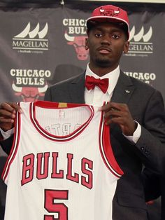 Chicago Bulls introduce first round pick Bobby Portis