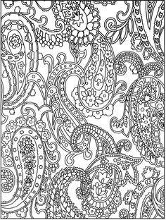 Henna coloring page from Dover Publications http://www ...