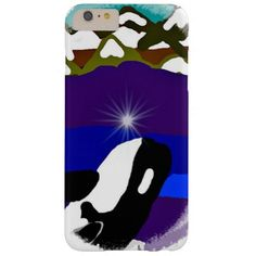 Breach to the Mountains Killer Whale iPhone 6 Plus Case