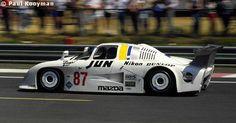 87 - Mazda 727C #002 (Mooncraft) - Mazdaspeed Co. Ltd. Le Mans 24 Hours 1984