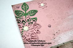 Scrapbook toujours avec Isabelle Lefebvre Scrapbook Sketches, Stampin Up, Stamping Up
