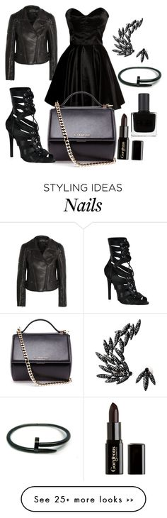 """""""All Black Everything!"""" by styleiconscloset on Polyvore"""