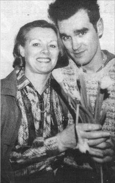 Morrissey and his mother.
