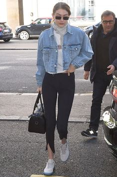 Gigi Hadid in Paris, France on Wednesday 02/04/18 #VeronicaTasmania