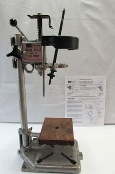 Vintage Sears Craftsman Bench Top Standing Hand Drill Press #335.259261