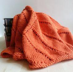 Handmade Knit Mandala Baby Blanket in by OneFiftySixHandmade