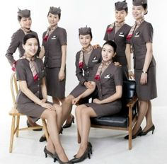 Asiana Airlines Flight Attendants