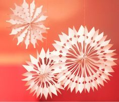 54 Best Snowflake Crafts Images In 2019 Diy Christmas Decorations