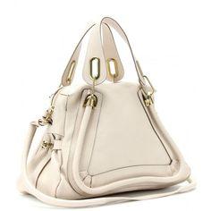 Chloé Paraty Medium Leather Shoulder Bag ($1,895) via Polyvore