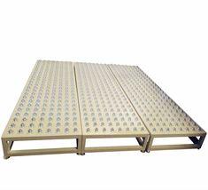roller ball table horizontal white universal wheel table conveyor rh pinterest co uk