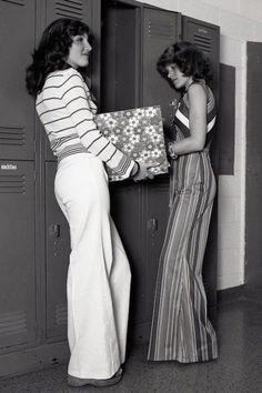 Saiba como era o street style nos anos 70