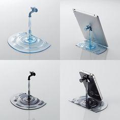 creative-iPhone-iPad-stand-tap-water