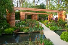 The homebase garden Joe Swift at Chelsea flower show 2012
