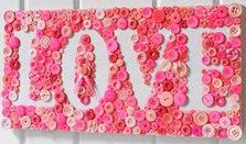 Love Button Mosaic