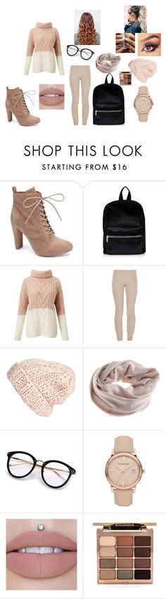 """fall has arrived"" by queeney5522 on Polyvore featuring Wild Diva, Miss Selfridge, The Row, Free People, Burberry and Stila"