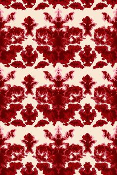 Timorous Beasties : Rorschach inspired wallpaper