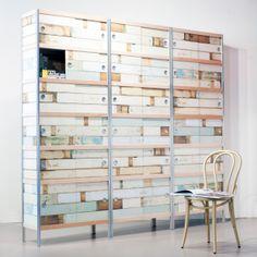 Kewlox   designkasten   Piet Hein Eek collectie   sloophout