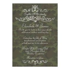 ReviewSimple Luxury Camo Wedding Invitations Personalized Inviteswe are given they also recommend where is the best to buy
