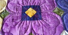 All about quilting, knitting, crochet and view butterflies & flowers thrown in.