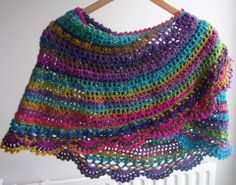 Half ronde sjaal