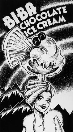 Biba ice cream.