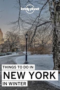 Looking for the best things to do in NYC in the winter? We have you covered with this list of the all the best free things to do, so youll never have to look for what to do in NYC in the winter.