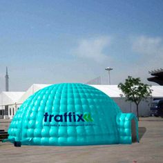 Give a startling impression of your brand with our custom printed inflatable igloo tents. Dome Tent, Design