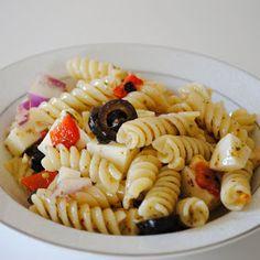 Homemade By Holman: Pesto Pasta Salad