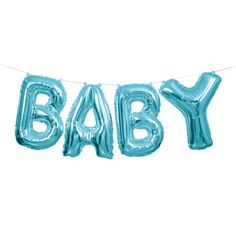 60% OFF: Blue Baby 9 Foot Airfill Balloon Banner Party Supplies Canada - Open A Party