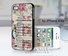 #floral #makeup #set #make #up #iPhone4Case #iPhone5Case #SamsungGalaxyS3Case #SamsungGalaxyS4Case #CellPhone #Accessories #Custom #Gift #HardPlastic #HardCase #Case #Protector #Cover #Apple #Samsung #Logo #Rubber #Cases #CoverCase