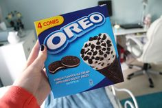 oreo ice cream. ♡